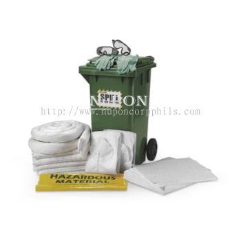 120 Litre Dispenser Spill Kit Cart - Oil Only
