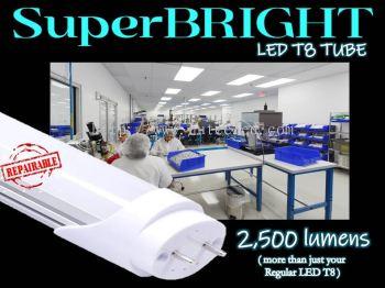 SuperBRIGHT LED T8 Tube
