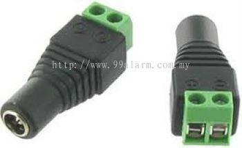 DCPF01 - DC Plug-Female (Screw-on type)