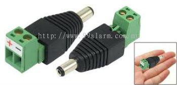 DCPM01 - DC Plug-Male (Screw-on type)