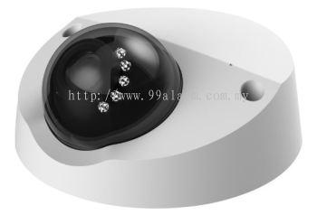 HDBW2220F - 2.4MP Infrared Dome HD-CVI Camera with Mic (��106 �� 50mm)