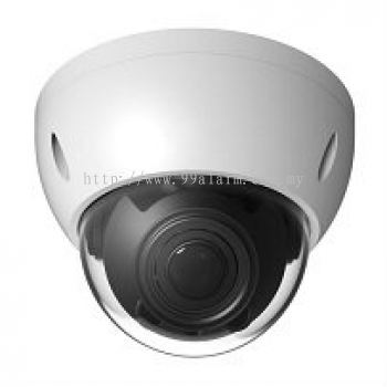 HDBW2220R-Z - 2.4MP Infrared Dome HD-CVI Camera w& Motorised Lens (��122 �� 89mm)