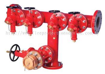 SRI 4 WAY FIRE Hydrant