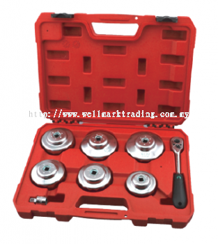 8-End Cap Auto Filter Wrench Set