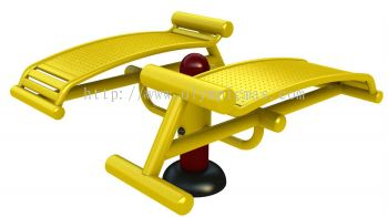 PC-SE-08 - Double Curve Sit up bench