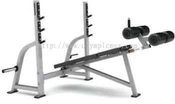 G1 �C FW165 �C Olympic Decline Weight Bench