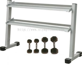 Hexagon 5 Pairs Dumbbell With Rack