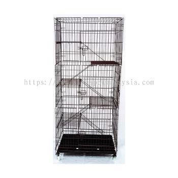 6355GF - Solid Platform Cat Cage