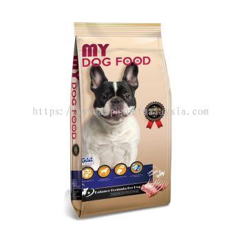GM's Premium MY Dog Food (Lamb Flavour)15KG