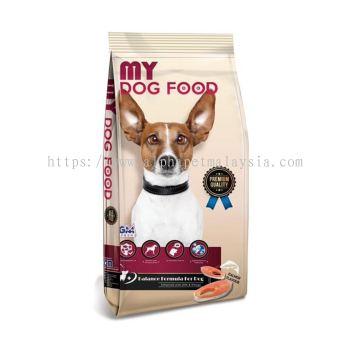 GM's Premium MY Dog Food (Salmon Flavour) 15KG