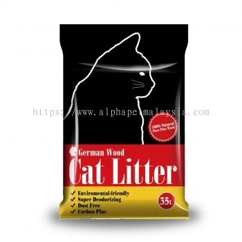 German 35 Liter Wood Cat Litter (CWP35L)