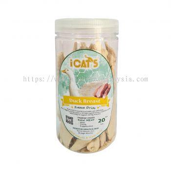 iCat's Freeze Dried Pet Treat - Duck Breast