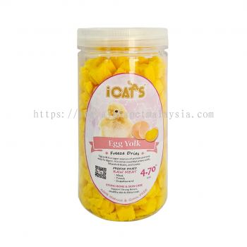 iCat's Freeze Dried Pet Treat - Egg Yolk