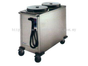 Mobile Self Leveling Heated Plate Dispenser