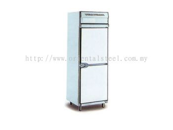 2 Door Upright Chille/Freezer