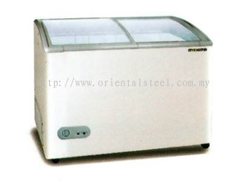 Chest Freezer with Glass Door