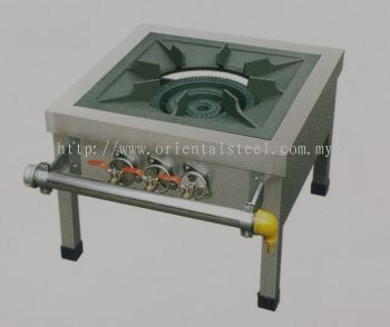 Stainless Steel Low Stove