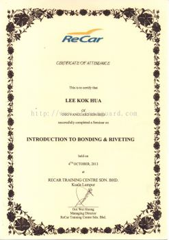 RECAR Introduction To Bonding & Riveting