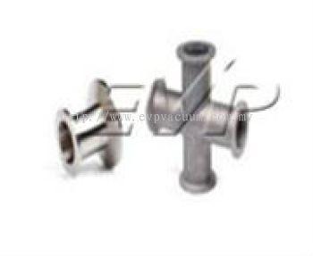 Vacuum Element X-Piece (Stainless Steel)