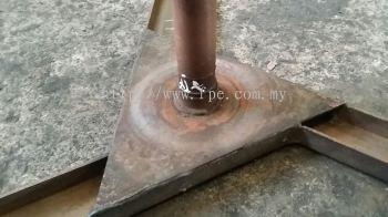 Metalspray repair worn out bearing journal