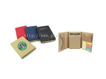 E02 Eco Notepad Set