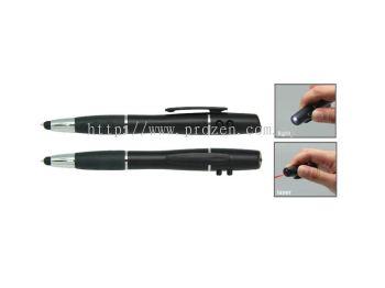 MFP 012 LED & Laser Pointer Stylus Ball Pen