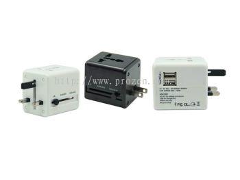 International Travel Dual USB Adapter