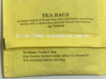 TEA BAG SACHET 1,000 PCS
