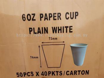 6OZ PAPER CUPS MOQ 2000PCS/CTN