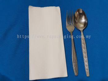 2 Ply Diner Napkin Plain (2,000 pcs)