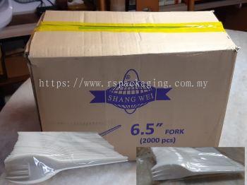 6.5 FORK 50 PCS X 40 PACKS (2,000 PCS)