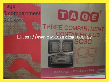 Tage 3 Compartment (200 set)