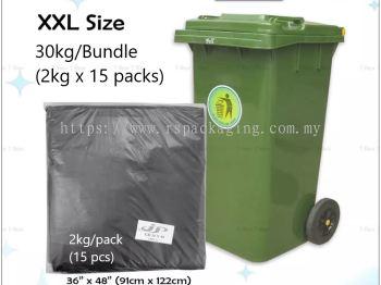 """36""""/48"""" GARBAGE BAG 2KG X 15 (225 PCS)"""