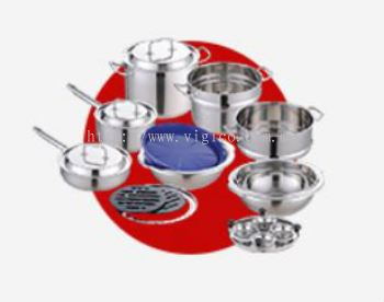 27-Pieces Stylish Cookware Set