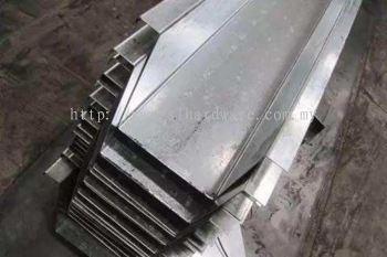 Stainless steel gutter