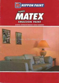 Nippon  matex emulsion paint (��).