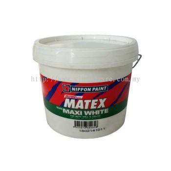 S&L  NIPPON PAINT SUPER MATEX MAXI WHITE 15245 18L.