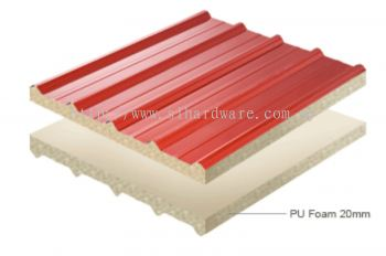 Supply & Installation metal roofing +Pu metal