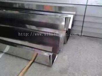 Standard steel ss304 hollow, plate gutter
