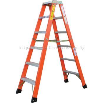Supply double side lightduty ladder