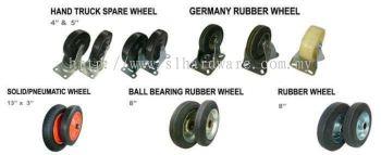 Supply nylon wheel , rubber wheel