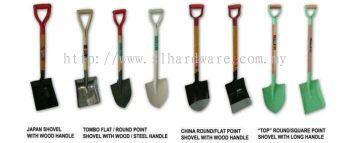 To supply round & flat shovel