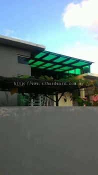 To supply & installation poly carbonate awning