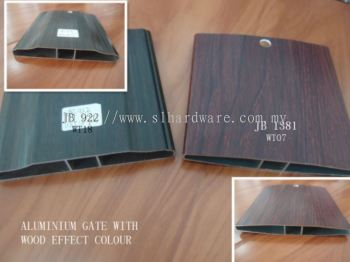 To supply aluminum wood