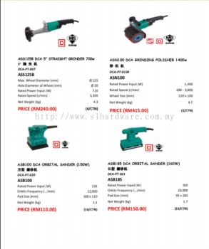 Supply DCA POWER TOOL