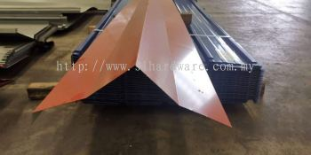 Supply metal roofing flashing