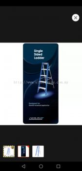 Supply evelast single side ladder