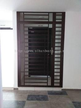 Mild Steel Grille Door