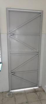 Iron Plate Door