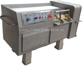 Diced meat cutting machine